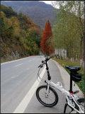 周末骑行赏山水秋色