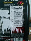 正品MOTUL8100背面贴纸撕开,生产日期