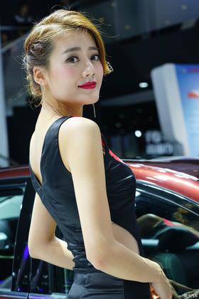 2015广州国际车展----女模特