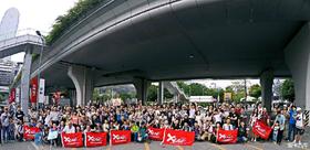 2015广州国际车展遇老猫