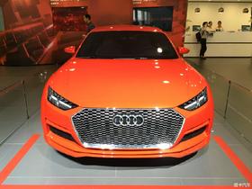 奥迪TT sportsbake概念 2015广州车展正式亮相