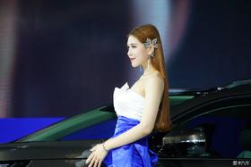 2015广州车展模特秀