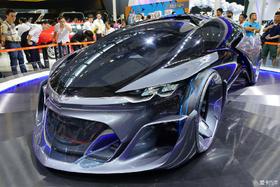 2015广州车展上的慨念车与豪车