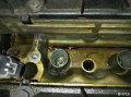 标致508更换气门室盖垫水泵