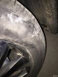 CX-5轮胎侧面鼓包了