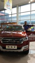 在昌海福江4S店第二次试驾,正值江铃福特万人试驾活动