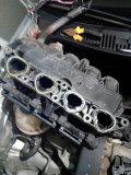 四眼POLO进气支管、节气门、油水分离器清洗拆装