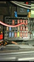 速腾保险盒ACC取电问题