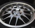 福克斯马自达3改装轮毂四个17寸的带胎