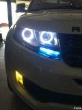 X7改装大灯和车顶,开启不凡之旅!