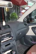 成都美声大众POLO汽车音响改装德国海螺+魔立方享受音乐生活