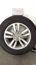 出一套途观风尚拆车轮毂轮胎,价格超低