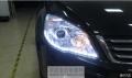 青岛晓东专业汽车灯光改装哈弗H6改装氙气灯车灯改装前大灯