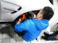 |武汉宝马3系改装|宝马3系改排气刹车作业!