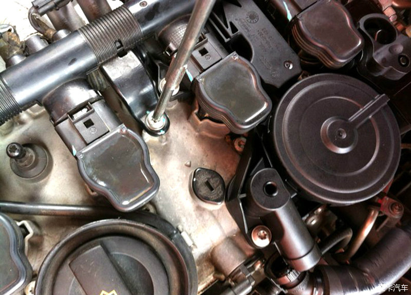 > 节约一分钱是硬道理-a4l更换废气阀小过程图片