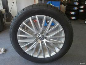 升级17寸轮毂轮胎了