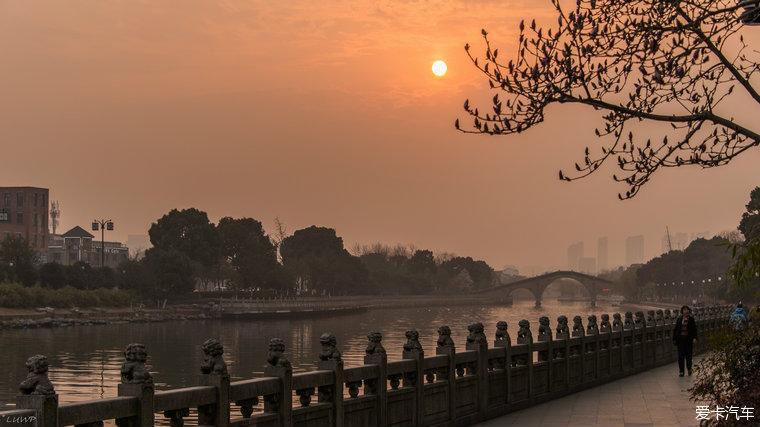 苏州环古城河健身步道