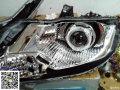锋范车灯升级改装Q5双光透镜岩崎灯泡海蓝星安定锋范论坛网