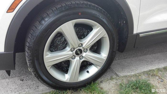 林肯MKC新提车的轮毂改装大法
