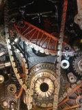 补更换正时系统链条、张紧器、导轨、链轮作业