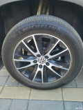 途观再一次改装。17熏黑升级18寸轮毂。可用帕萨特
