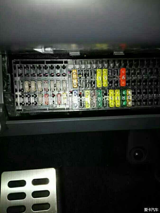 废弃顶灯取电,恢复保险盒取电