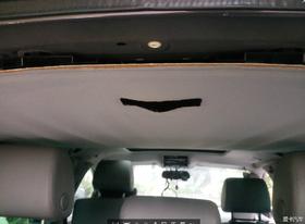 没见过途锐车顶内部的进来看看,顺便贴了隔热,换了棚布