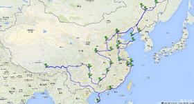 《 心 的 旅 行 》   一万五千公里自驾游