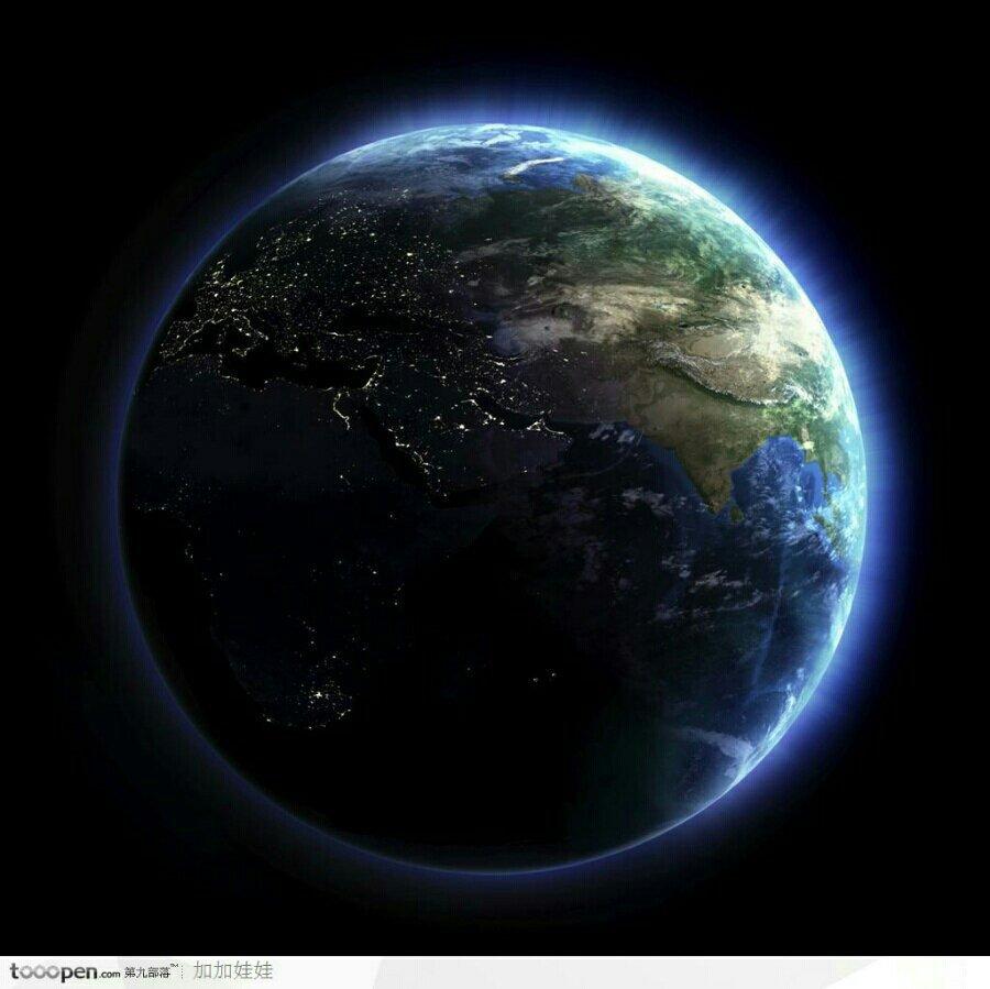 地球星空素材  竖