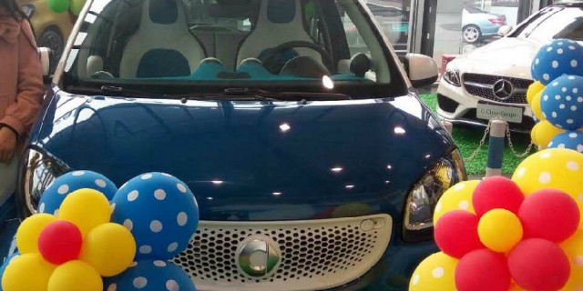 ����smart forfour 0.9T���°棬���ᳵ