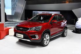 2016北京车展:奇瑞小型SUV瑞虎3X发布