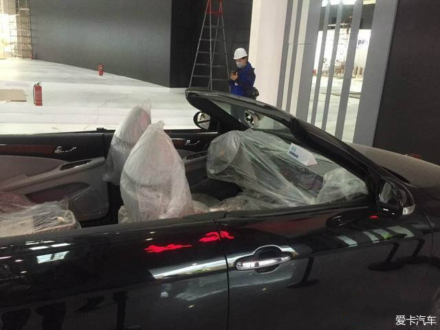 baidu 红旗H7敞篷版霸气现身 秒杀众豪车 跑车 2高清图片