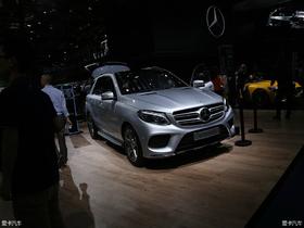 【2016北京车展】奔驰GLE500e混动在车展上