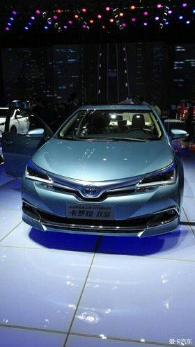 看2016北京车展丰田环保车