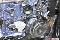 奥迪A8L音响改装曼斯特|四门大能隔音|成都美声汽车音响改装