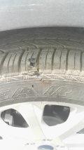 轮胎这样算是质量问题么?