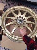 出17寸美国正品单片锻造轮毂双孔矩。