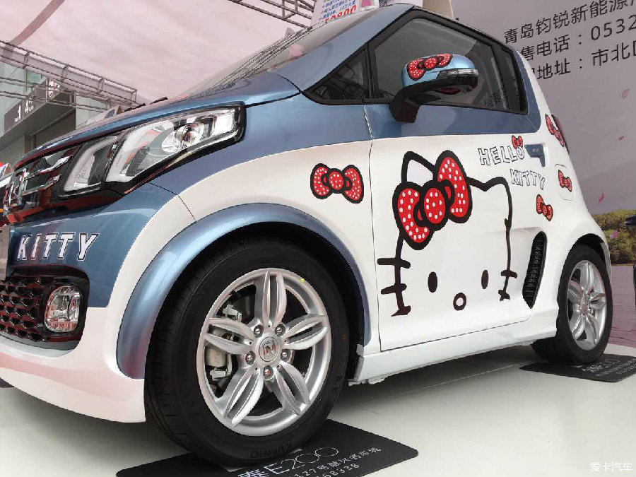 11-16号 众泰E200强势出击青岛国际车展_众泰