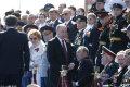 俄罗斯举行卫国战争胜利71周年阅兵式