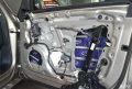 西安汽车音响改装西安车乐汇改装奥迪A8L汽车音响专业施工