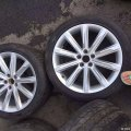 瞧瞧好看的奥迪A7豪华原厂19寸轮毂轮胎
