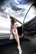 #小短腿和大长腿#【美妞闺蜜当车模】=唯锐界与美女不可辜负