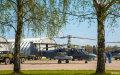 俄罗斯5.9阅兵空中方队训练场开放日
