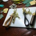 手工皮具定制皮车钥匙扣