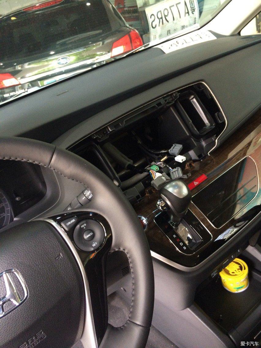 广州新塘本田奥德赛原车屏导航凯立德升级故障宝骏730变速箱模块拉线图片