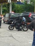 洋妞骑摩托