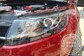 成都陆风X7改灯大灯怎么改装车灯多少钱氙气大灯双光透镜成都店