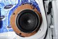 奥迪Q5汽车音响改装意大利赫兹无损音响改装|长沙江波汽车影音