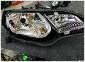 【黑夜氙光】东莞汽车大灯改装---本田飞度升级Q5双光透镜