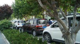 大哥小威带领型男CX70和时尚教主欧尚参加车友会活动贴来啦!